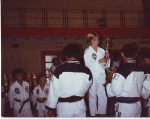 Paul Winning First Place In Karate (1982)