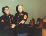 USMC Birthday with Sgt. Major Patri (1992)