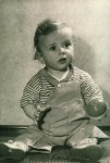 Ron Scharff Baby Photo (1945)