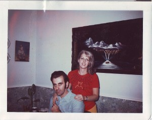 Ron and Kathy Scharff in 1974