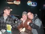 Billy Thompson, Bob Raycraft, and Paul Scharff at Raymond's Bowl in Johnsburg, IL. February, 2009.