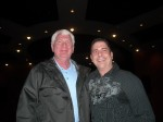 Dennis Aroldy and Paul Scharff at the Clark County Library, Las Vegas, NV. January, 2011