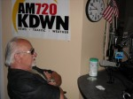 Frank Cullotta on the Heidi Harris Show, KDWN Radio, Las Vegas, NV. June, 2009.