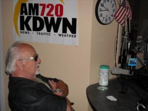 Frank Cullotta on the Heidi Harris Show, KDWN Radio, Las Vegas, NV. June, 2009.
