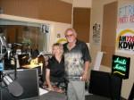 Frank Cullotta, and Heidi Harris on the Heidi Harris Show, KDWN Radio, Las Vegas, NV. June, 2009.