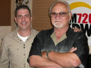 Frank Cullotta and Paul Scharff on the Heidi Harris Show, KDWN Radio, Las Vegas, NV. June, 2009