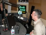Heidi Harris and Paul Scharff at the Heidi Harris Show, KDWN Radio, Las Vegas, NV. June, 2009.