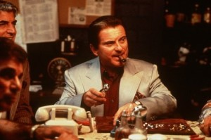 This is Joe Pesci in the movie CASINO as Nicky Santoro. The Outfit tough sent from Chicago to protect the Vegas skim.