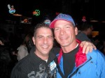 Steve Schuer and Paul Scharff at Mulligan's in McHenry, IL. October, 2009.