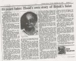 Chicago Tribune, December 26th, 1982 Frank Cullotta tells about the Brinks Heist he did 18 years earlier. Frank also confirms that six men were killed in Chicago for breaking into Chicago Outfit's leader Tony Arccardo's home.