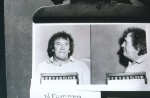 Copies of police photos made for the Rossi story are shots of the mobsters Frank Cullotta, Wayne Matecki, and Lawerence Neuman.