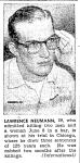 Larry Neumann Van Wert Times Bulletin, February 7th, 1957