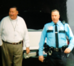 McHenry County Sheriff Keith Nygren and Deputy Scott Milliman during better times.