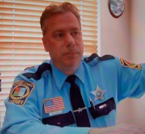 Deputy Scott Milliman in uniform.