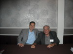 Andrew DiDonato and Dennis Griffin at Mob Con 2013 September 7th in Las Vegas.
