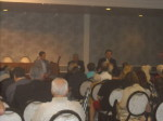 Andrew DiDonato, Dennis Griffin, and Robert Allen speaking at Mob Con 2013 on September 7th in Las Vegas.
