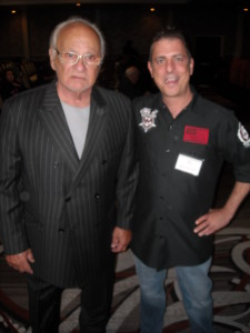 Frank Cullotta and Paul Scharff at Mob Con 2013 September 8th, 2013.