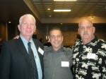 Dennis Arnoldy, Paul Scharff, and Rick Andornetto at Mob Con 2013 September 7th. Dennis Arnoldy was Frank Cullotta's debriefer and took down the Hole in the Wall Gang. Rick Andornetto was the former Chief of Police in Lakemoor. He was at my father's crime scene.