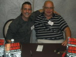 Paul Scharff and Keith Bettinger at Mob Con 2013 September 7th. Keith is my partner in crime, he co-authored MURDER IN MCHENRY with me.