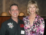 Paul Scharff and Heidi Harris at Mob Con 2013 on September 8th. She has Frank and I on her radio show in Las Vegas in 2009.