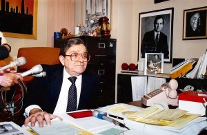 Fred Roti in Office