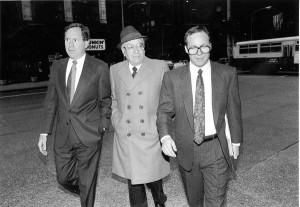 Pat Marcy Dirksen Federal Building Dec 20 1990 arraignment