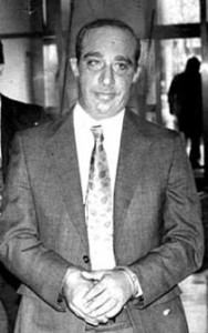 "Carmine ""The Snake"" Persico. Boss of the Colombo Crime Family"