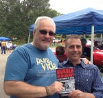 Paul Scharff and Brian Luczak at Walla Pa Looza Cancer benefit in July of 2013.