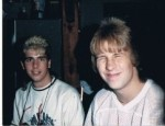 Paul Scharff and Shawn Kee in the Summer of 1988.
