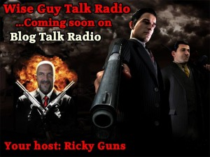Ricky Guns Host of Wise Guy Talk Radio