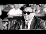 Tony Accardo testifying at the Kefauver Hearings
