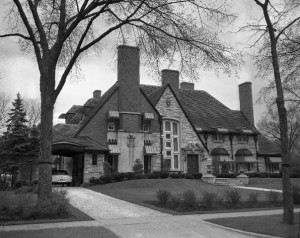 Tony Accardo's house in River Forrest.