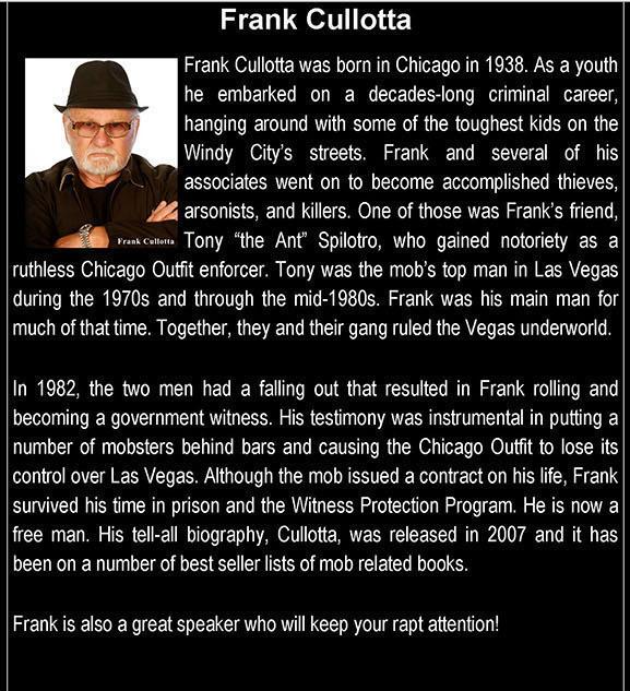 Frank Cullotta BIO