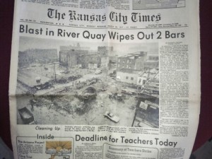 Newspaper River Quay Bombings