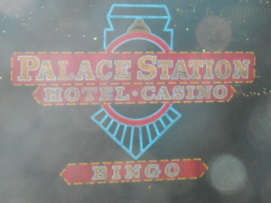 Paul Scharff's hotel room at the Palace Station Hotel and Casino.