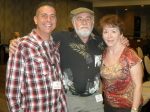 Paul Scharff, Bill Scharff, and Eileen Scharff at MOB CON 2014 September 28th, 2014 at Palace Station Hotel and Casino Las Vegas Nevada.