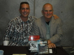 Paul Scharff and Gary Jenkins MOB CON 2014 September 27th, 2014 at Palace Station Hotel and Casino Las Vegas, Nevada.