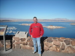 Paul Scharff at Lake Mead Nevada January 2011.