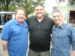 Rich Gabor Shawn Colomer and Paul Scharff July 2013 at Walla Pa Looza Johnsburg Illinois.