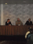 Robert Allen, Dennis Arnoldy, and Frank Cullotta speaking at MOB CON 2014 September 27th, 2014 at Palace Station Hotel and Casino Las Vegas Nevada.